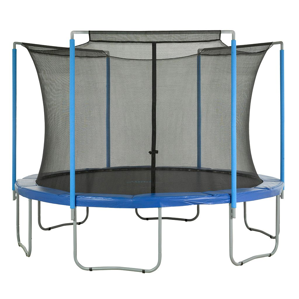 Upper Bounce 11-ft. Round 3-Arch Trampoline Enclosure Safety Net