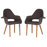 Baxton Studio 2 pc Forza Chair Set