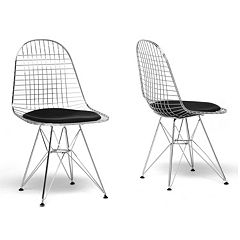 Baxton Studio 2 pc Avery Chair Set
