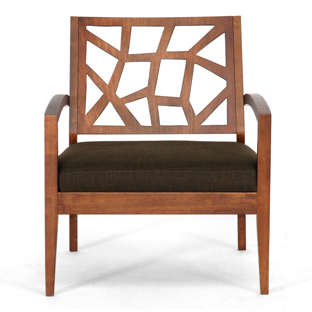 Baxton Studio Jennifer Arm Chair