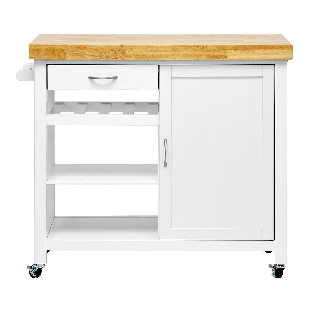Baxton Studio Denver Kitchen Cart