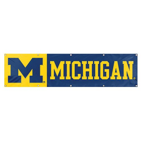 Michigan Wolverines Giant Banner