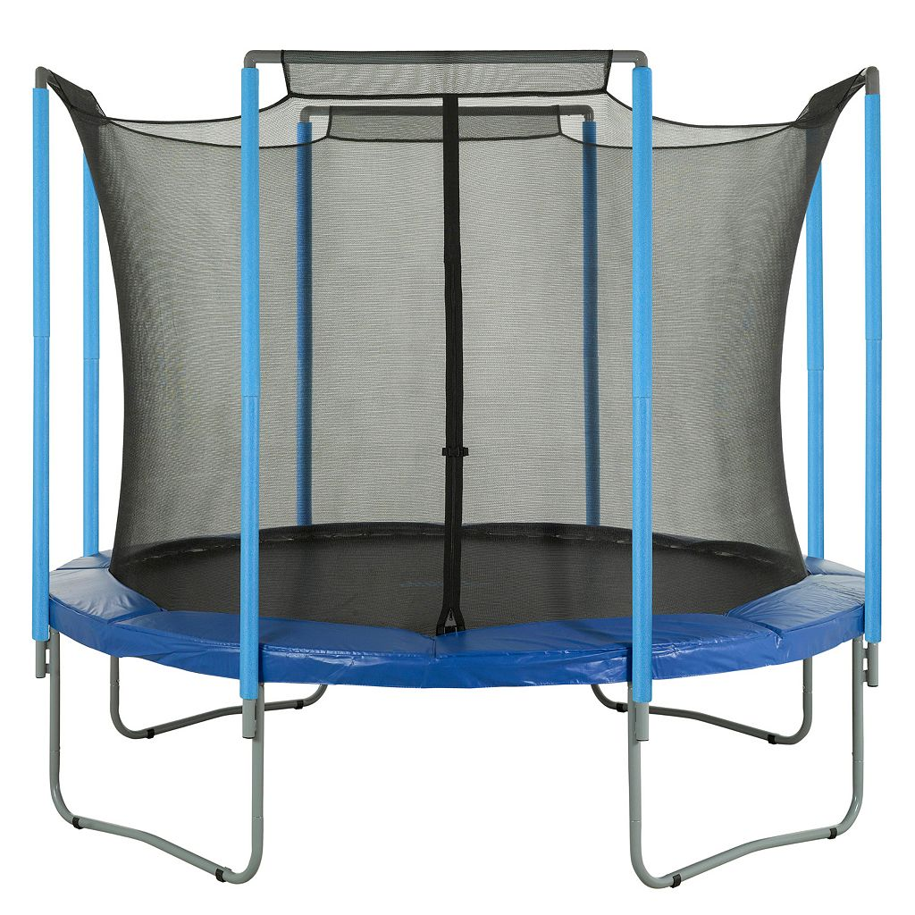 Upper Bounce 14-ft. Round 4-Arch Trampoline Enclosure Safety Net