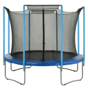 Upper Bounce 15-ft. Round 4 Arch Trampoline Enclosure Safety Net
