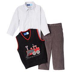Great Guy Train Vest Set - Baby