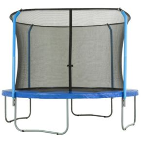 Upper Bounce 14-ft. Round 4-Curved-Pole Trampoline Safety Net