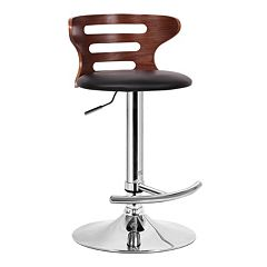 Baxton Studio Buell Adjustable Bar Stool