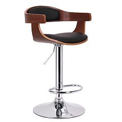 Baxton Studio Garr Adjustable Bar Stool
