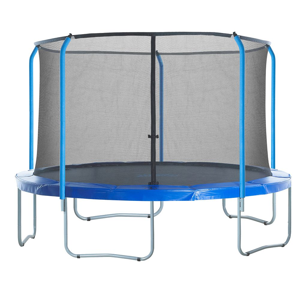 Upper Bounce 15-ft. Round 5-Curved-Pole Trampoline Safety Net