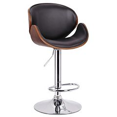 Baxton Studio Crocus Adjustable Bar Stool
