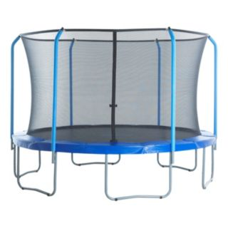 Upper Bounce 15-ft. Round 6-Curved-Pole Trampoline Safety Net