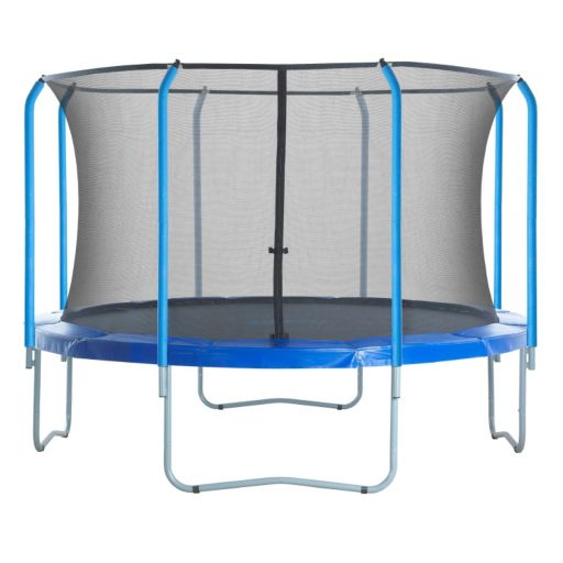 Upper Bounce 15-ft. Round 8-Curved-Pole Trampoline Safety Net