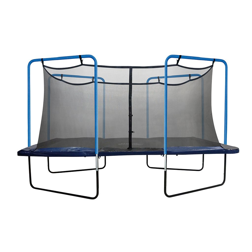 Upper Bounce 13-ft. Sqaure 4-Arch Trampoline Enclosure Net