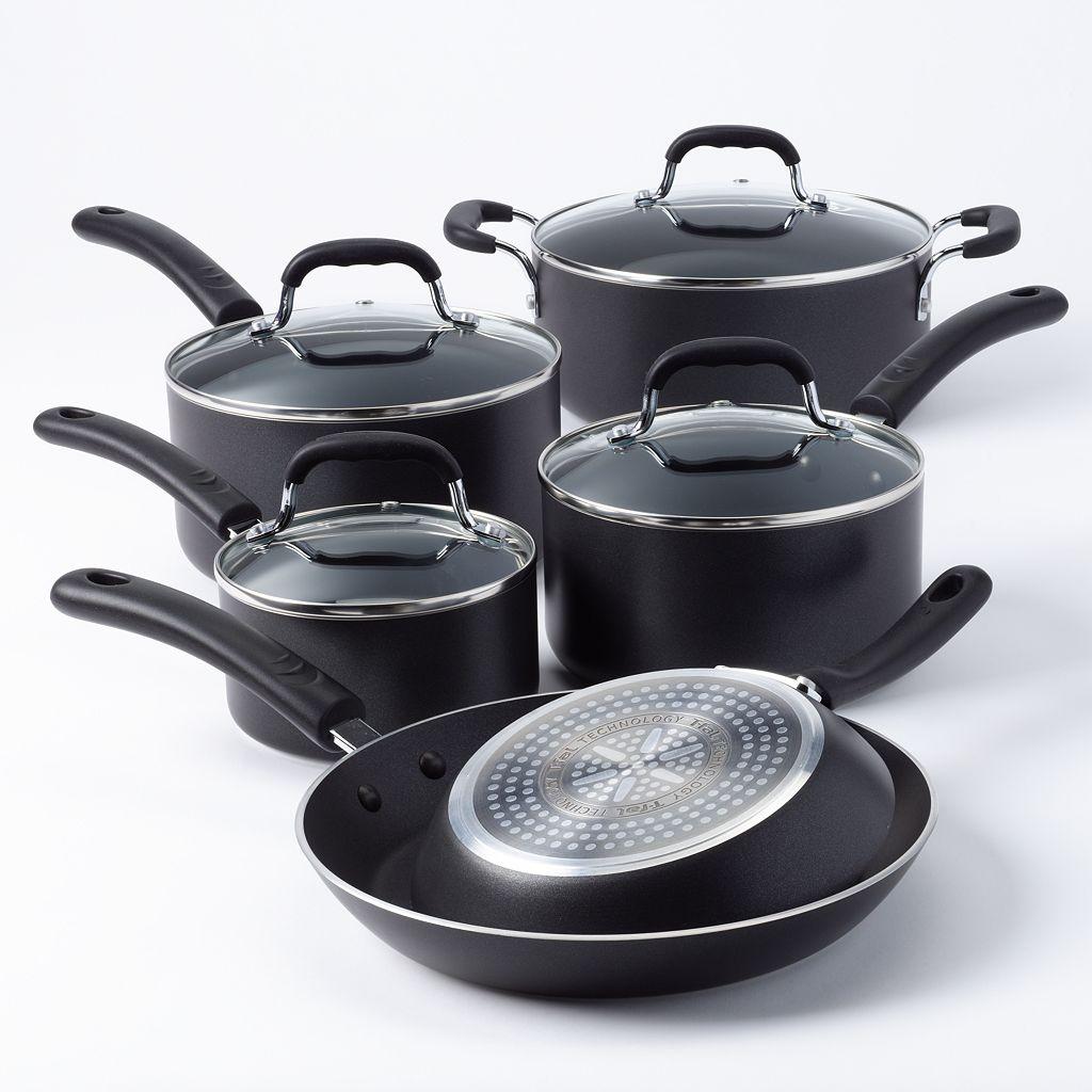 T-Fal 10-pc. Nonstick Professional Cookware Set