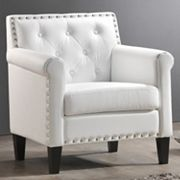 Baxton Studio Thalassa Arm Chair