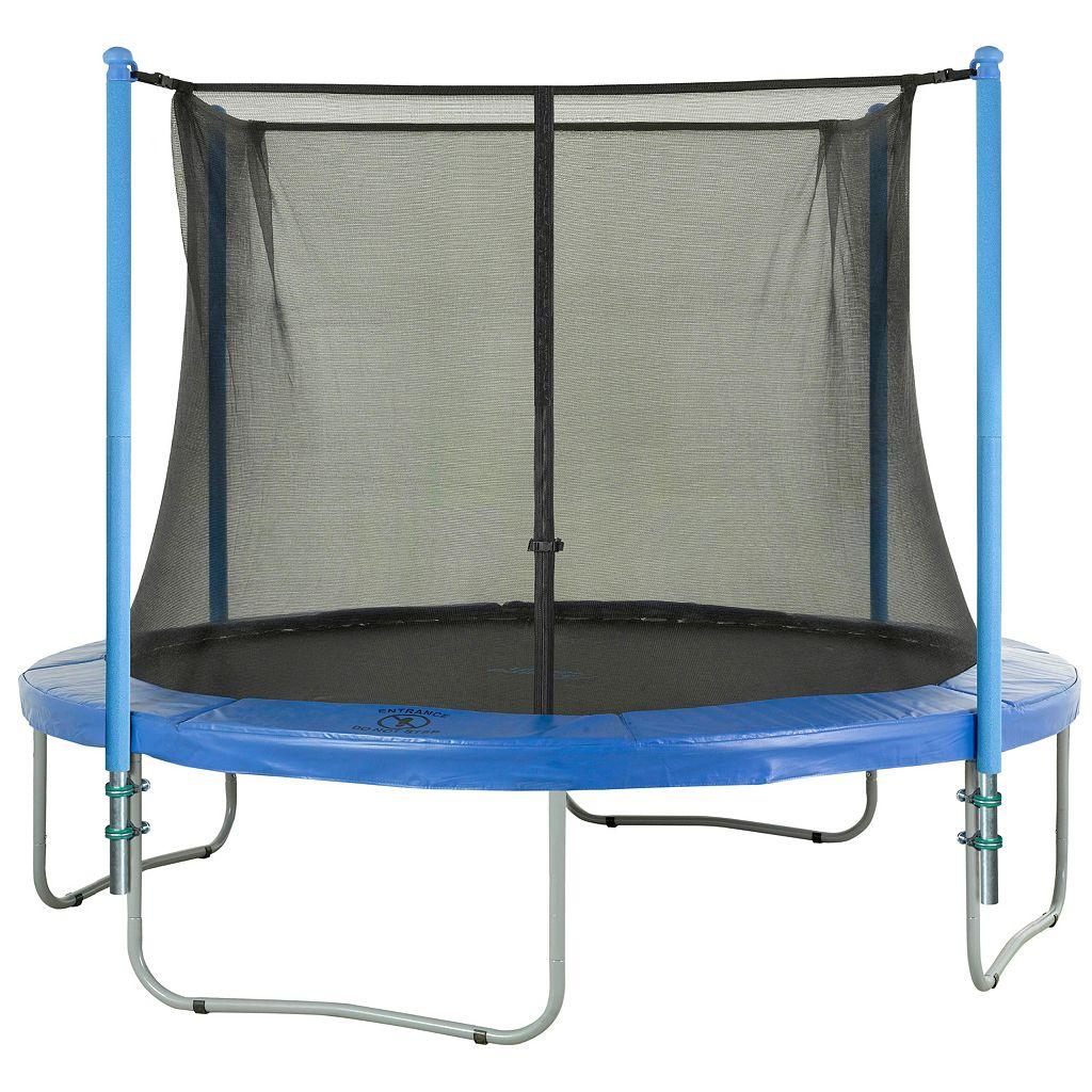Upper Bounce 4-Pole Trampoline Enclosure Set for 10-ft. Trampoline Frames