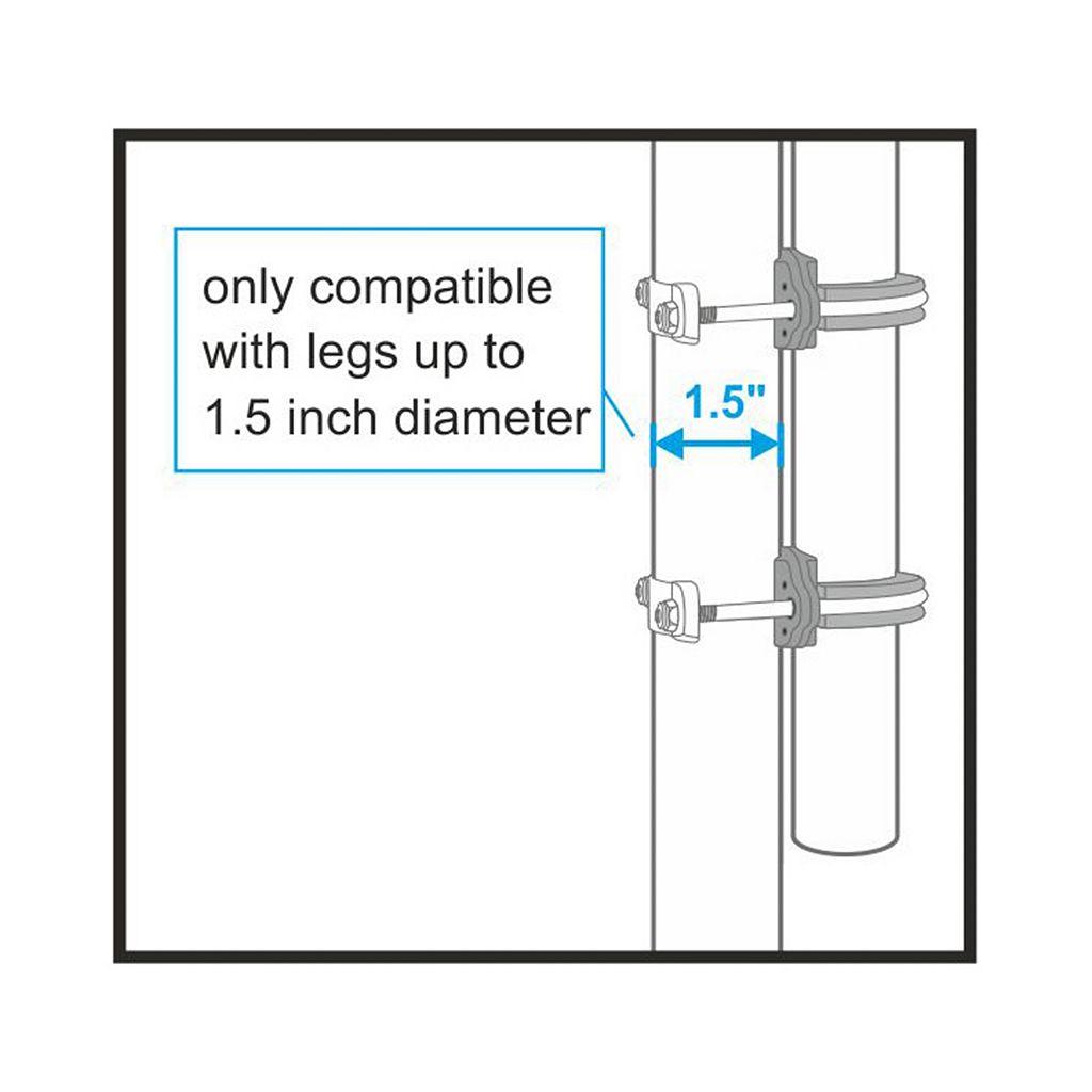 Upper Bounce 6-Pole Trampoline Enclosure Set for 14-ft. Trampoline Frames