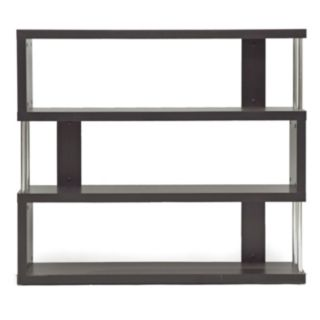 Baxton Studio Barnes 3-Shelf Bookcase