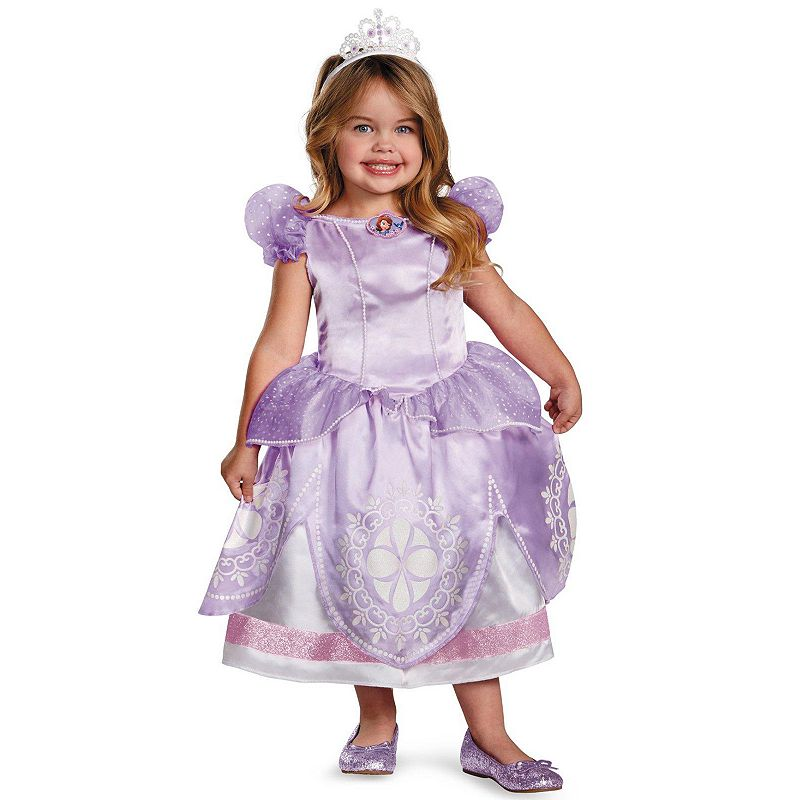Disney Store Deluxe Cinderella Costume For Baby Toddler 2t: Disney Sofia The First Deluxe Costume