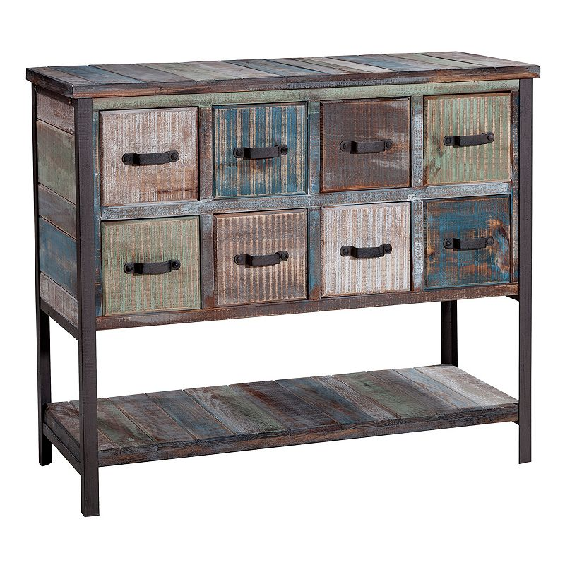 Gallerie Decor Soho 8-Drawer Console Table