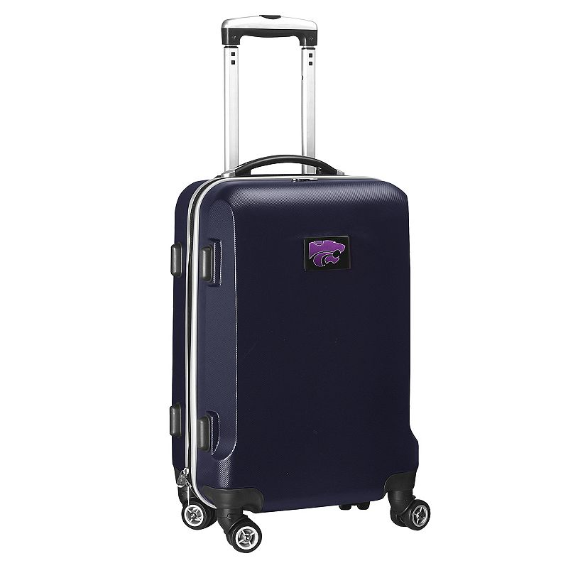 Kansas State Wildcats 19 1/2-in. Hardside Spinner Carry-On, Blue (Navy)