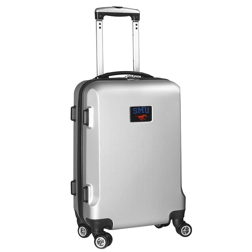 SMU Mustangs 19.5-inch Hardside Spinner Carry-On