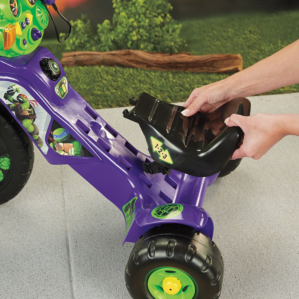 Teenage Mutant Ninja Turtles Lights and Sounds Trike by Fisher-Price