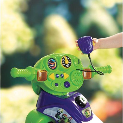 Teenage Mutant Ninja Turtles Lights and Sounds Trike by Fisher-Price