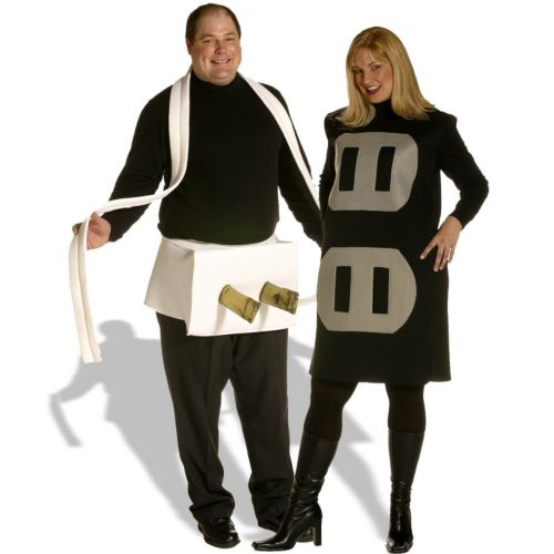 Plug and Socket Couples Set  Costume - Adult Plus