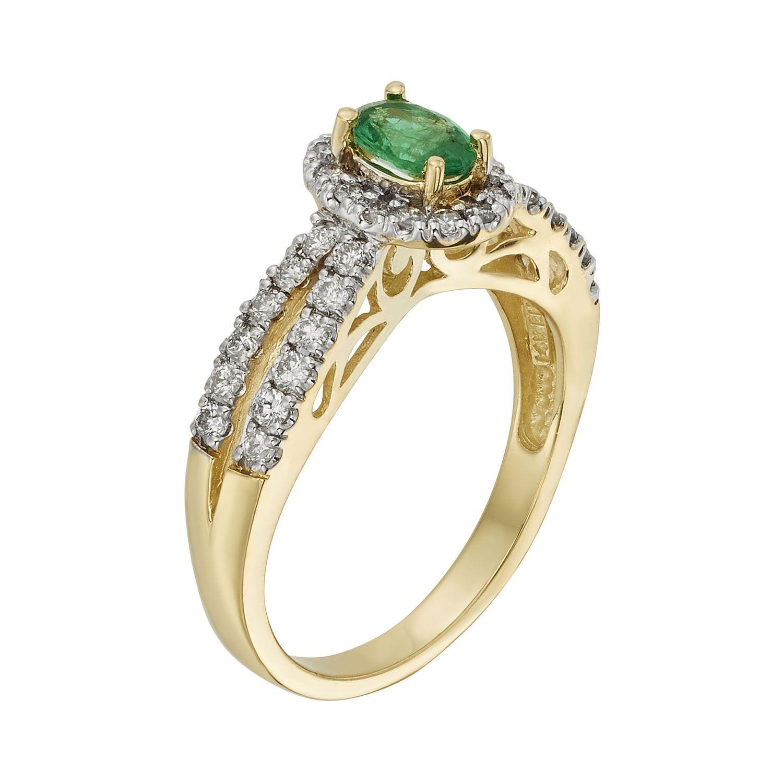 fine emerald rings jewelry kohl s