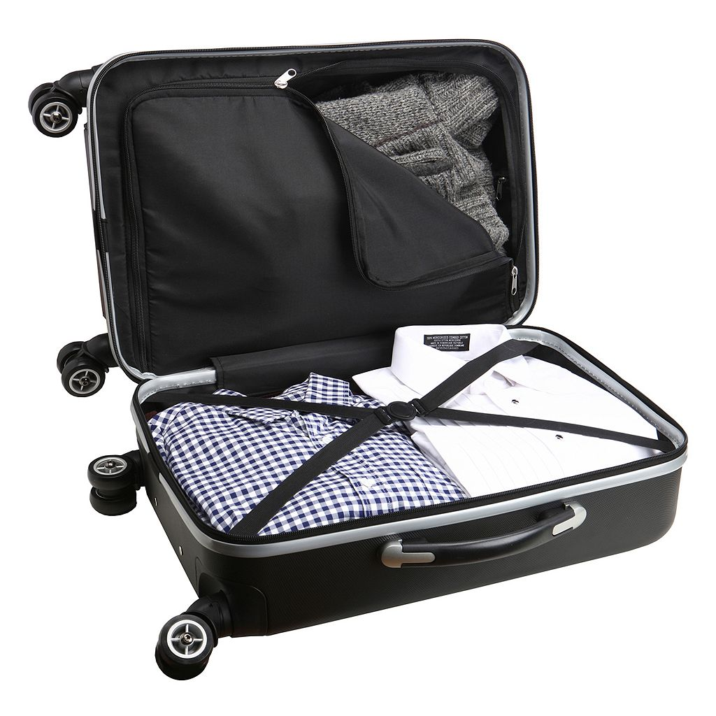 Oakland Raiders 19 1/2-in. Hardside Spinner Carry-On