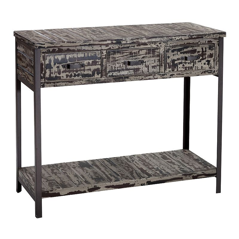 Gallerie Decor Soho 3-Drawer Console Table