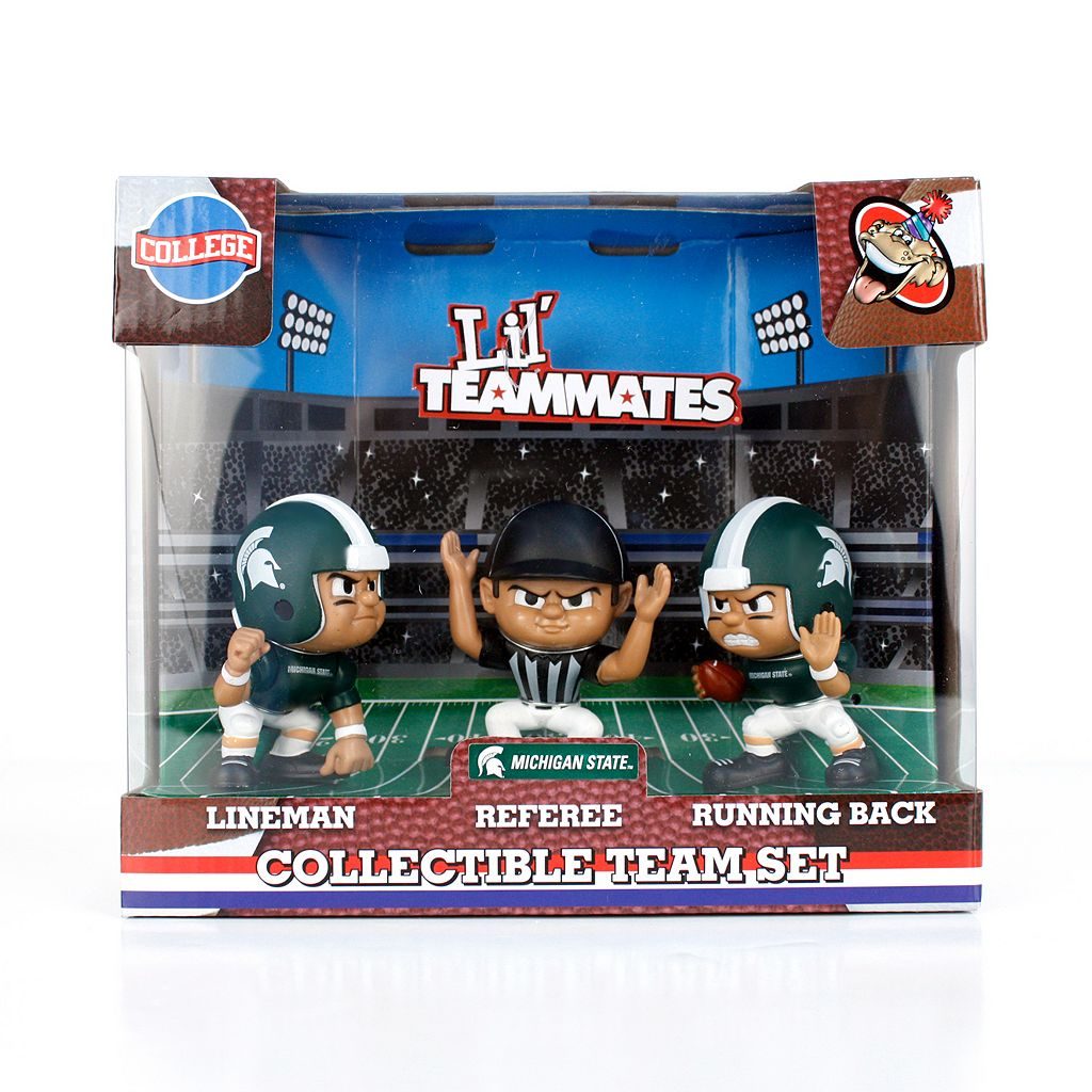Michigan State Spartans 3-Pack Lil' Teammates Figures