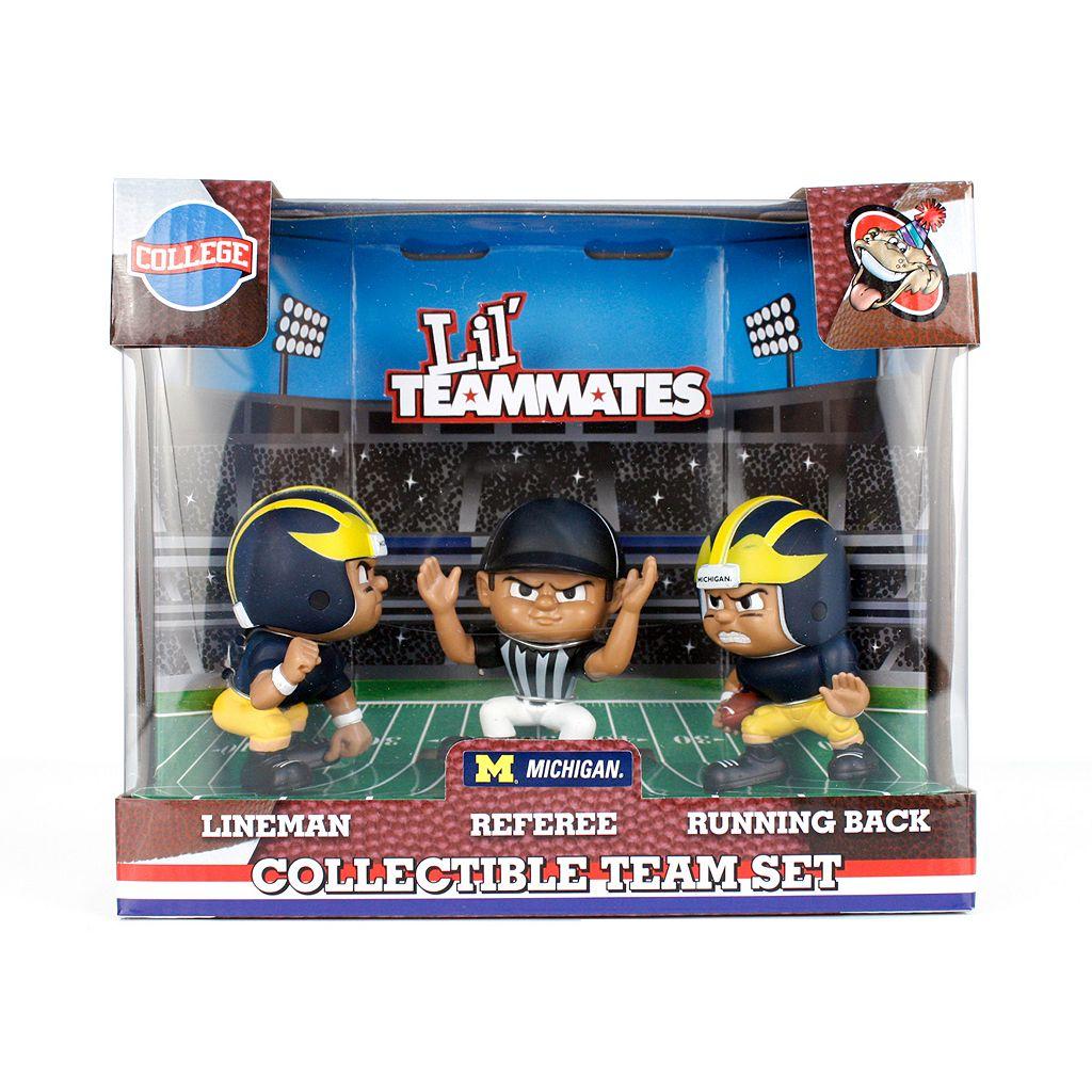 Michigan Wolverines 3-Pack Lil' Teammates Figures