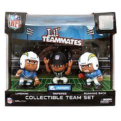 San DiegoChargers 3-Pack Lil' Teammates Figures