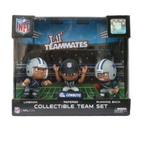 Dallas Cowboys 3-Pack Lil' Teammates Figures