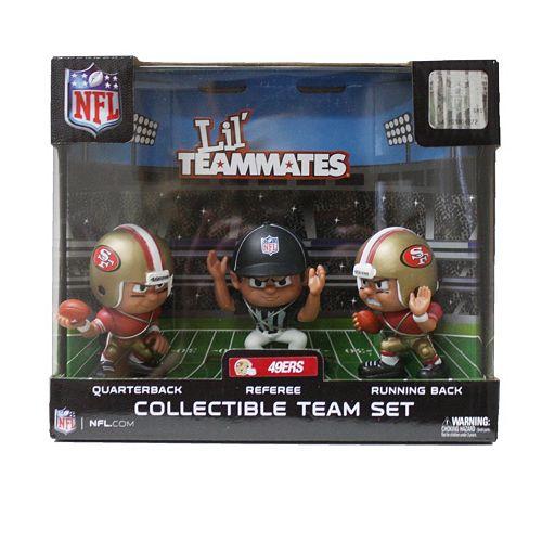 San Francisco 49ers 3-Pack Lil' Teammates Figures