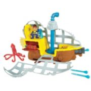 Disney Jake and the Never Land Pirates Rolling Submarine Bucky by Fisher-Price