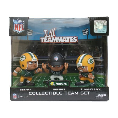 Green Bay Packers 3-Pack Lil' Teammates Figures