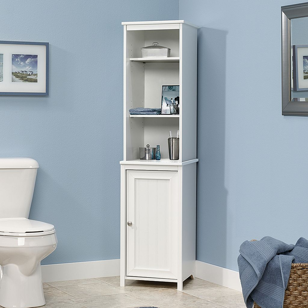 Sauder Caraway Collection Linen Storage Cabinet