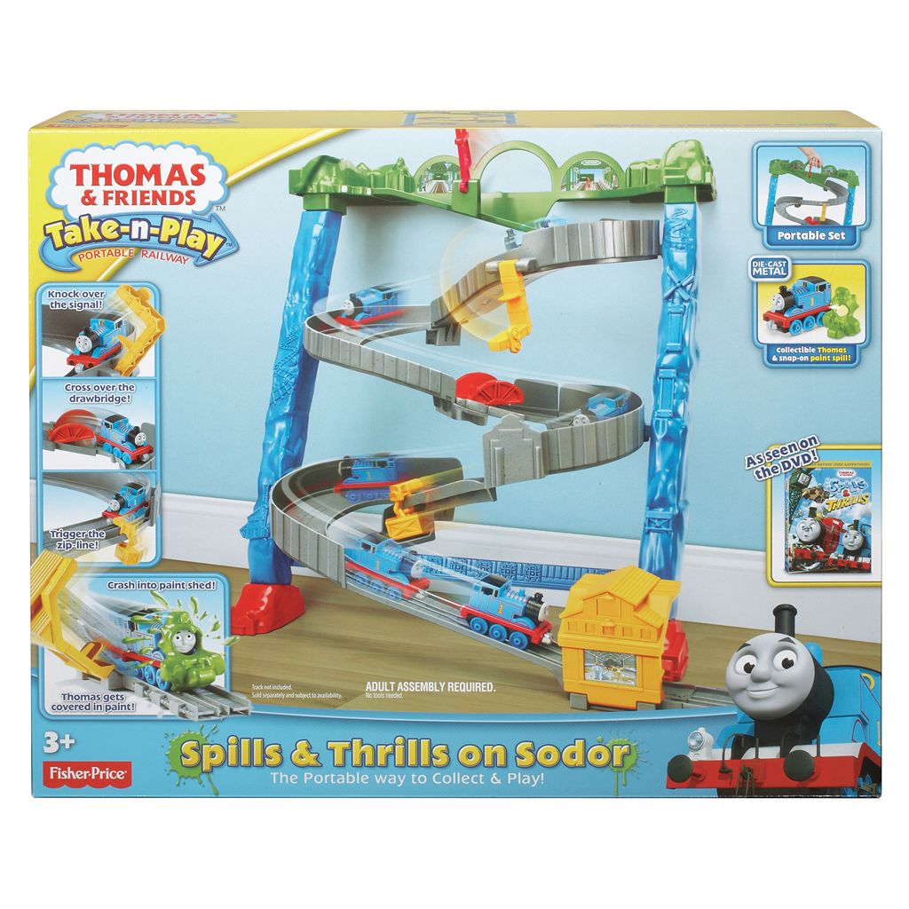 Thomas and Friends Take-n-Play Spills and Thrills on Sodor by Fisher-Price