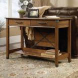 Sauder Carson Forge Collection Sofa Table