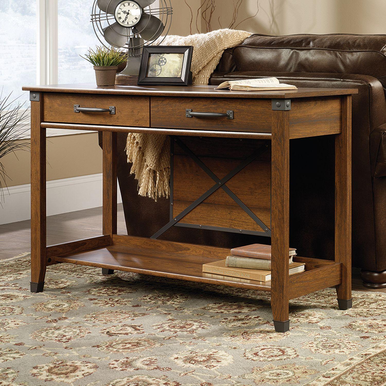 Sauder Carson Forge Collection Sofa Table
