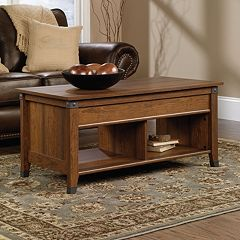 Sauder Carson Forge Collection Storage Coffee Table