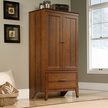 Sauder Carson Forge Collection Armoire
