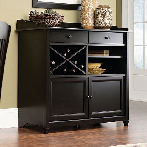 Sauder Edge Water Collection Sideboard Console Table