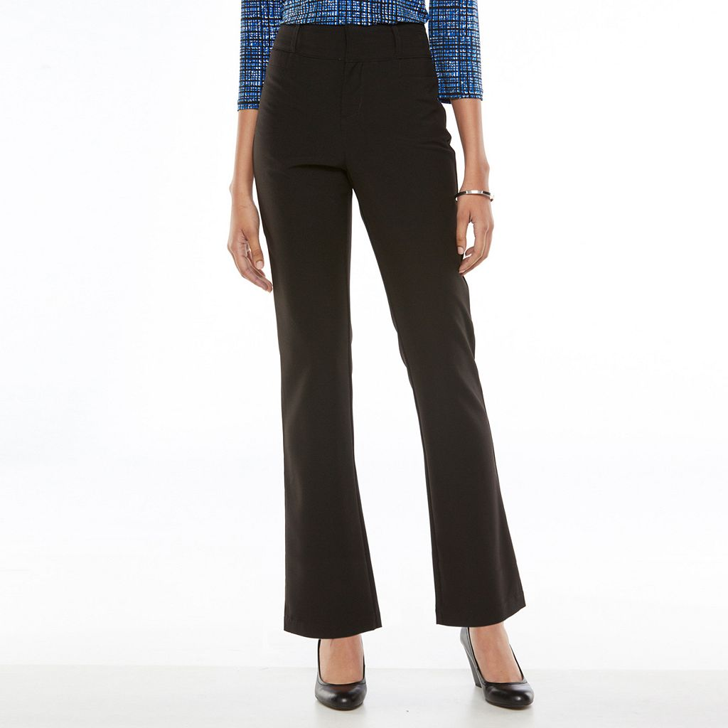 Gloria Vanderbilt Classic Trouser Pants - Women's