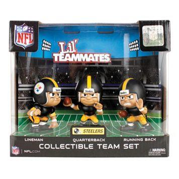 Pittsburgh Steelers 3-Pack Lil' Teammates Figures