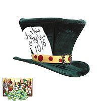 Disney Alice in Wonderland Mad Hatter Classic Costume Hat - Adult