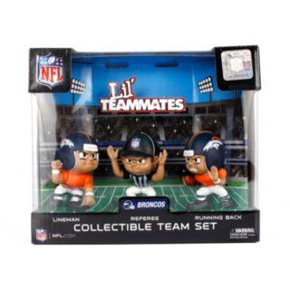 Denver Broncos 3-Pack Lil' Teammates Figures